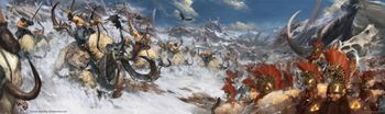 Age Of Sigmar Destruction Battletome - Beastclaw Raiders - Berzerker Vs Beastclaw 2016.jpg