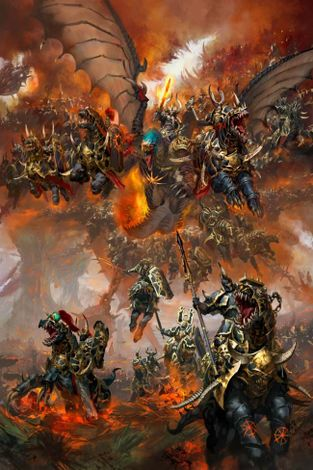 Archaon-Everchosen-and-the-Varanguard-Paul Dainton.jpg