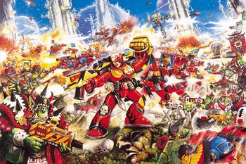 Blood-Angel-v-Orks-John Blanche-1993.jpg
