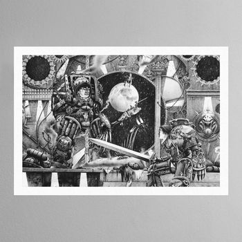 Horus-Vs-The-Emperor-1990-Print.jpg