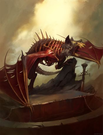 Age of Sigmar Battletome - Flesh-Eater Courts - Terrorgheist 2019.jpg