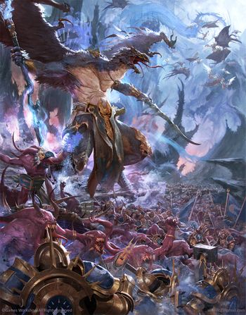 Age Of Sigmar Chaos Battletome - Disciples Of Tzeentch Cover - Lord Of Change.jpg