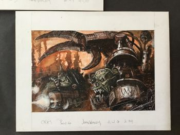 Ork Warboss with power claw and Nobz squad.jpg