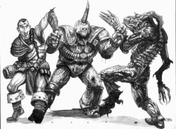 Nurgle and Tzeench Marines.jpg