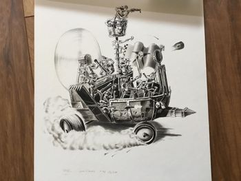 Grotz - Gretchins on a ramshackle sand speeder.jpg