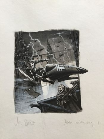 Eldar Jetbike in Imperial city.jpg